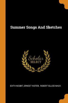 Summer Songs and Sketches book