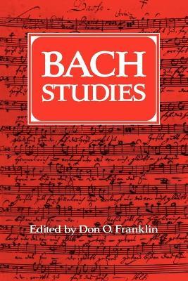 Bach Studies book