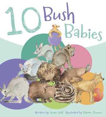 Ten Bush Babies by Susan Hall