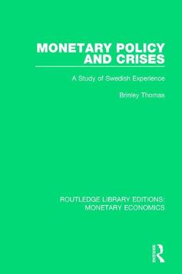 Monetary Policy and Crises book