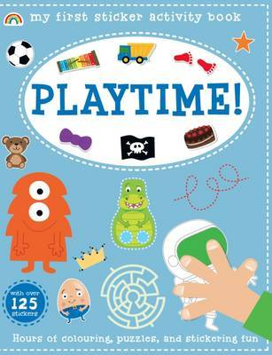My First Sticker Activity Book - Playtime! by Philip Dauncey