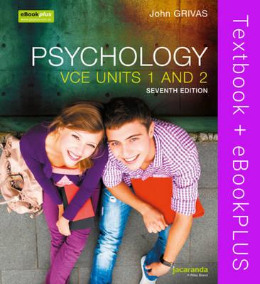 Psychology VCE Units 1 and 2 7E & eBookPLUS by John Grivas