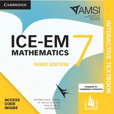 ICE-EM Mathematics Year 7 Interactive Textbook by Peter Brown