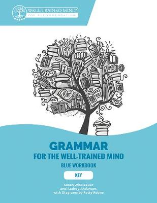 Key to Blue Workbook: A Complete Course for Young Writers, Aspiring Rhetoricians, and Anyone Else Who Needs to Understand How English Works by Susan Wise Bauer