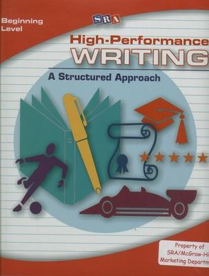 High-Performance Writing Beginning Level, Complete Package by Terry Dodds