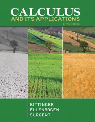 Calculus and Its Applications by Marvin L. Bittinger