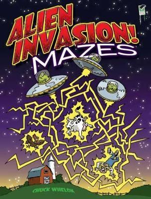 Alien Invasion! Mazes book