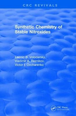 Synthetic Chemistry of Stable Nitroxides book