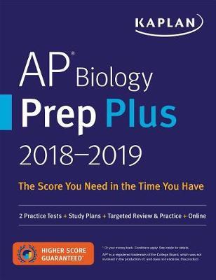 AP Biology Prep Plus 2018-2019 book
