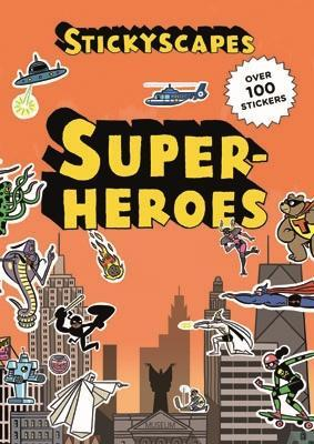 Stickyscapes Superheroes book