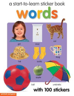 Start To Learn Words Sticker Book book