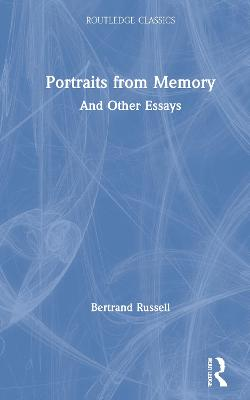 Portraits from Memory: And Other Essays book