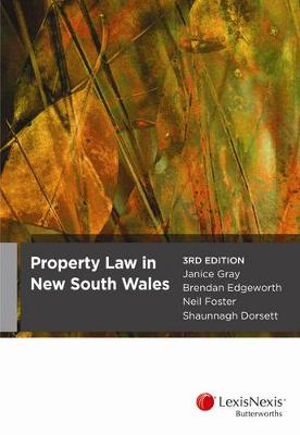 Property Law in NSW book