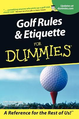 Golf Rules & Etiquette for Dummies book
