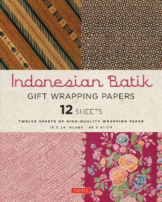 Indonesian Batik Gift Wrapping Papers by Periplus Editors