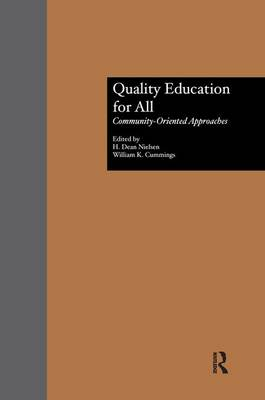 Quality Education for All by H. Dean Nielsen