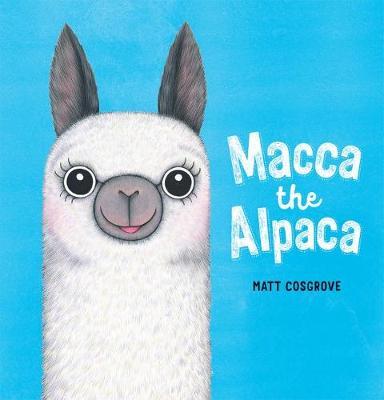 Macca the Alpaca book