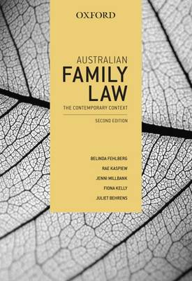 Australian Family Law: The Contemporary Context book