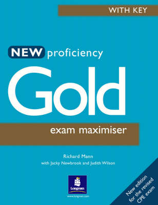 New Proficiency Gold Maximiser with Key by Richard Mann