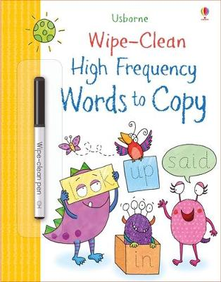 Wipe-Clean High-Frequency Words to Copy by Hannah Watson