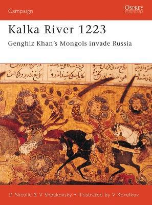 Kalka River 1223 by David Nicolle