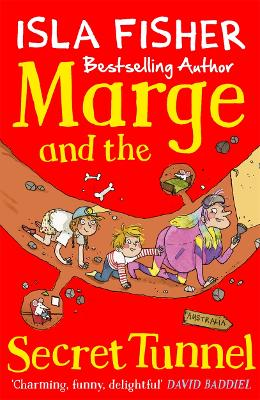 Marge and the Secret Tunnel book