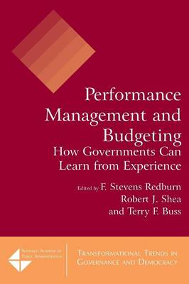 Performance Management and Budgeting by F. Stevens Redburn
