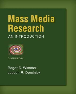 Mass Media Research book