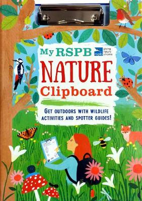 My RSPB Nature Clipboard by Eryl Nash
