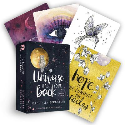 The Universe Has Your Back: A 52-card Deck by Gabrielle Bernstein