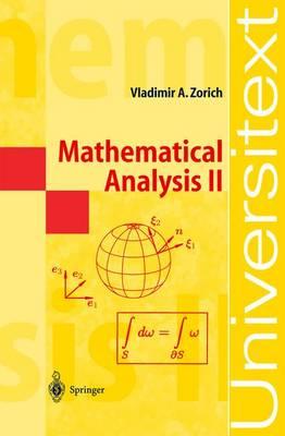 Mathematical Analysis II: v. 2 by Vladimir A. Zorich