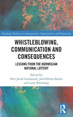 Whistleblowing, Communication and Consequences: Lessons from The Norwegian National Lottery book