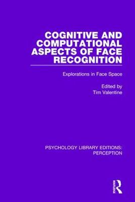 Cognitive and Computational Aspects of Face Recognition: Explorations in Face Space by Tim Valentine