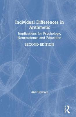 Individual Differences in Arithmetic book