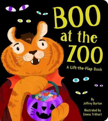 Boo at the Zoo: A Lift-the-Flap Book by Jeffrey Burton