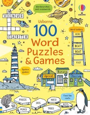100 Word Puzzles and Games book
