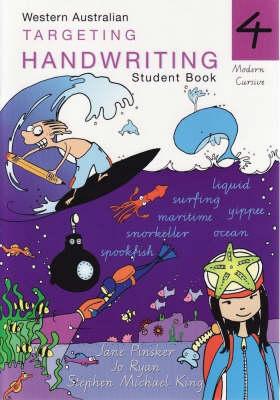 Targeting Handwriting: Year 4 Student Book by Jane Pinsker