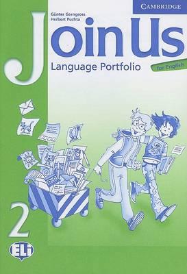 Join Us for English 2 Language Portfolio book