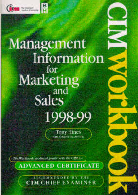 Management Information for Marketing and Sales by Dr. Tony Hines