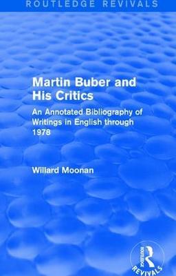 Martin Buber and His Critics book