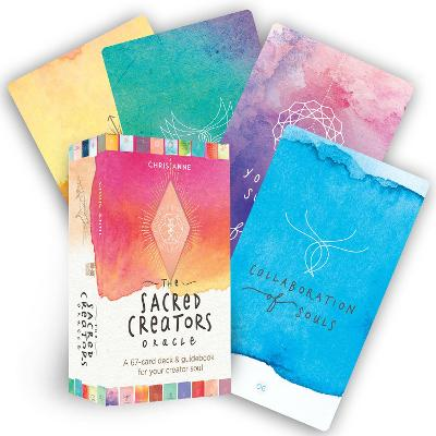 The Sacred Creators Oracle: A 67-Card Deck & Guidebook for Your Creator Soul book