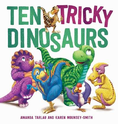 Ten Tricky Dinosaurs book