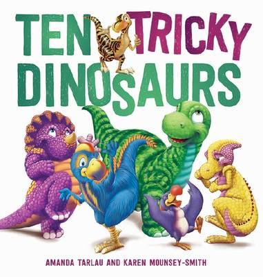 Ten Tricky Dinosaurs book