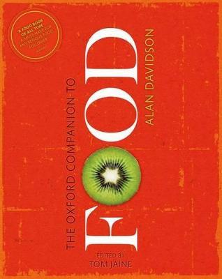 Oxford Companion to Food book