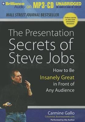 Presentation Secrets of Steve Jobs book