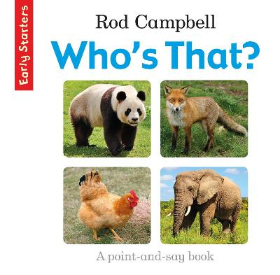 Who's That? by Rod Campbell
