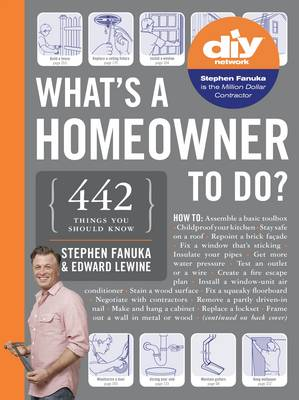 What's a Homeowner to Do? by Edward Lewine