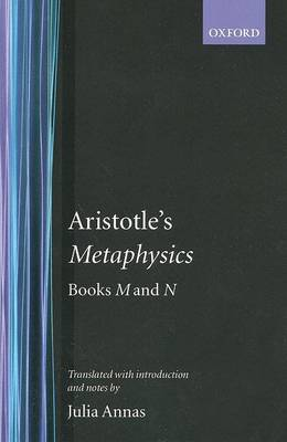Metaphysics Books M and N by Aristotle
