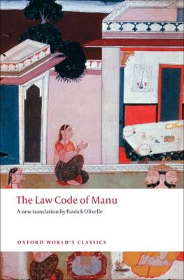 The Law Code of Manu by Patrick Olivelle