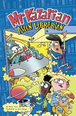 Mr Kazarian, Alien Librarian by Steve Foxe